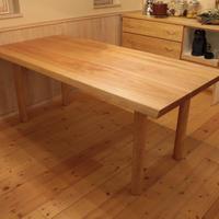 現品商品のみ Lv-dtlf-ks W1800 Warp(ワープ)ダイニングテーブル さくら材