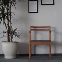 現品限り!Dining Chair / Salvia(ブラックチェリー材/タンバリン)