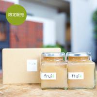 【限定販売】frui(フリュイ)ラ・フランスジャム(180g)2個セット