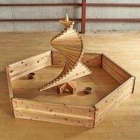 木製サークル&連結用ロープ(玉落とし・木のたまごプール共通)