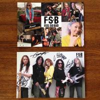 FSBポストカード2枚セット(メンバー直筆サイン入り+オフショット集)