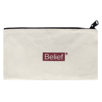 BELIEF NYC Box Logo Zipper Pouch