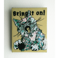 【手刺繍】Bring it on!
