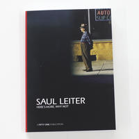 Saul Leiter『HERE'S MORE, WHY NOT』