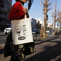 宇田川新聞イラスト・ふげん社オリジナルトートバッグ