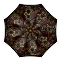 Japanese traditional family emblem art Umbrella