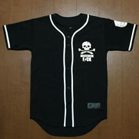 FMHI SAVAGE Base ball Jersey(Black)