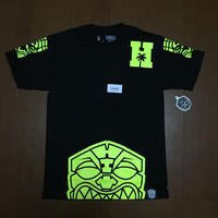 FMHI HALF AKUA HIVIZ FIGHT TEE