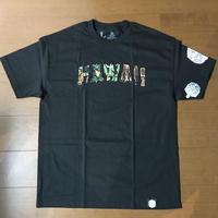 """FMHI  """"HAWAII"""" BLACK Tee"""