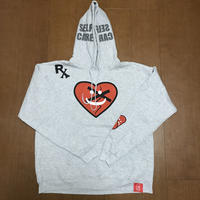 "FMHI PAINKILLER ""Happy Sad"" LOGO Hoodie GRAY"