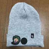 "ILOVEPAINKILLER  ""LEELOW""  PATCH BEANIE HAT"