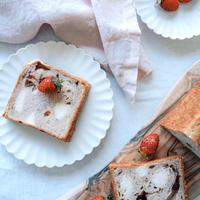 季節の食パン『 プレミアムベリー〜ホワイトチョコ仕立て〜』| 約20cm 1斤半