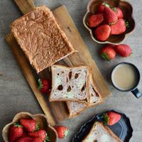 【ギフトボックス入り】季節の食パン『 プレミアムベリー〜ホワイトチョコ仕立て〜』| 約20cm 1斤半