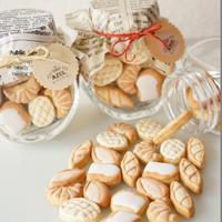 【NEW!】パンモチーフ!おいしい!アイシングクッキー:ご自身へのプレゼントに、もちろん手土産にも♪