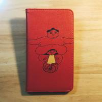 「たぷの里」手帳型スマホケース(全機種対応)