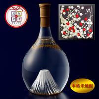 富士の酒 飛竜乗雲 本格米焼酎(風呂敷:光悦ちりめん友禅 梅)