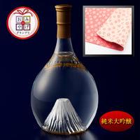 富士の酒 飛竜乗雲 純米大吟醸(風呂敷:桜ピンク)