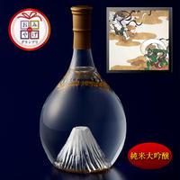 富士の酒 飛竜乗雲 純米大吟醸(風呂敷:風神雷神)