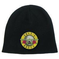 ガンズアンドローゼーズ (Guns N Roses)  Bullet Logo Cotton Beanie