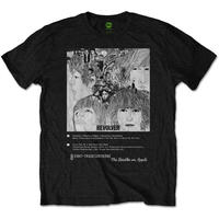 ビートルズ(THE BEATLES) MEN'S TEE: REVOLVER 8 TRACK