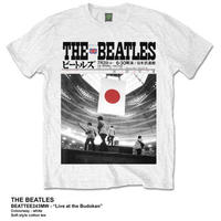 ビートルズ (THE BEATLES) MEN'S PREMIUM TEE: LIVE AT THE BUDOKAN