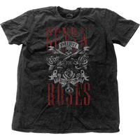 GUNS N' ROSES メンズファッション TEE: APPETITE FOR DESTRUCTION WITH SNOW WASH FINISHING