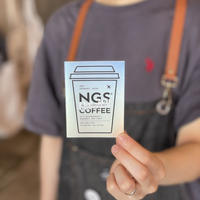 NGS 3周年記念 ホログラムステッカー