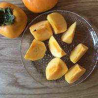 佐渡島のおいしい柿 7.5kg 自宅用 28-33個。