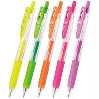 ゼブラ サラサクリップ ネオンカラー 0.5 JJ15-N 5色 単品売り  2本1組