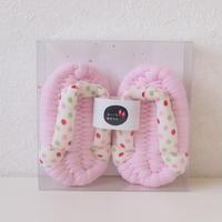 baby布ぞうり「いっぽ」ピンク