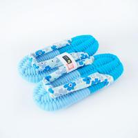 花柄鼻緒のふっくら布ぞうり:フロレッツ・ブルー