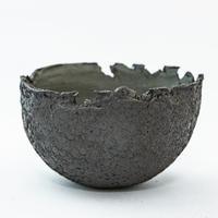 たけろうポット  コクコクちぎり/ Used Pot.23【中古鉢】