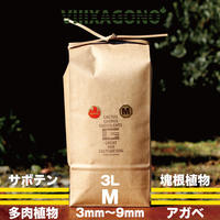 VIIIXAGONO -エクサゴノ- GREAT MIX CULTURE SOIL  M 3L / グレイト ミックス カルチャー ソイル
