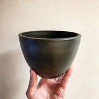 Black bowl Pot (15cm)