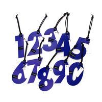 M059  バッグタグ / ブルー