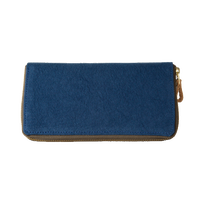 02 千菱 (長財布)染色 ブルー