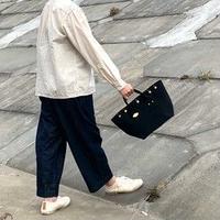 岡山倉敷キャンバス/小ぶりトート BEN TOTE (FR0135) / ブラック