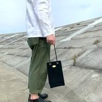 岡山倉敷キャンバス/巾着ショルダー SHUTTLE Ver.4/ ブラック