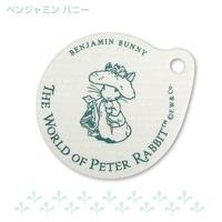 ピーターラビット/吸水コースター〈ベンジャミン バニー〉