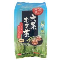 岐阜県産六条麦茶ティーバッグ 30袋×15