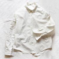 くったり大きなハーフリネンシャツ