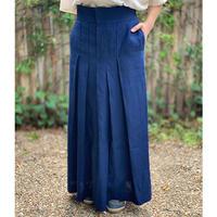 スカート 青