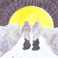 塩川 愛 |「冬にわかれて」原画55
