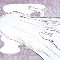 塩川 愛 |「冬にわかれて」原画26