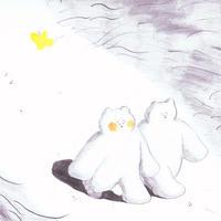 塩川 愛 |「冬にわかれて」原画54