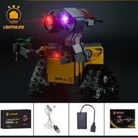 レゴ 21303 ウォーリー WALL・E ライトアップセット [LED ライト キット+バッテリーボックス]