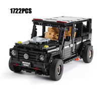 レゴ テクニック 互換品 メルセデスベンツ Gクラス風 G65 ジープ オフロード車 プレゼント クリスマス 車 おもちゃ ブロック