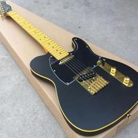 【ハードケース付】ブラック/ゴールド グローバルカスタム エレキギター 6弦 黒/金