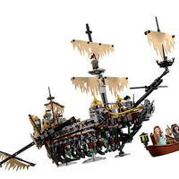 レゴ 71042相当 互換品 パイレーツオブカリビアン 最後の海賊 サイレント・メアリー号 欠パーツ保証