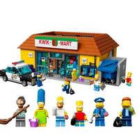 レゴ 71016 ミニフィグ付 ザシンプソンズ クイックEマート 互換品 レゴブロック 知育  ブロック おもちゃ